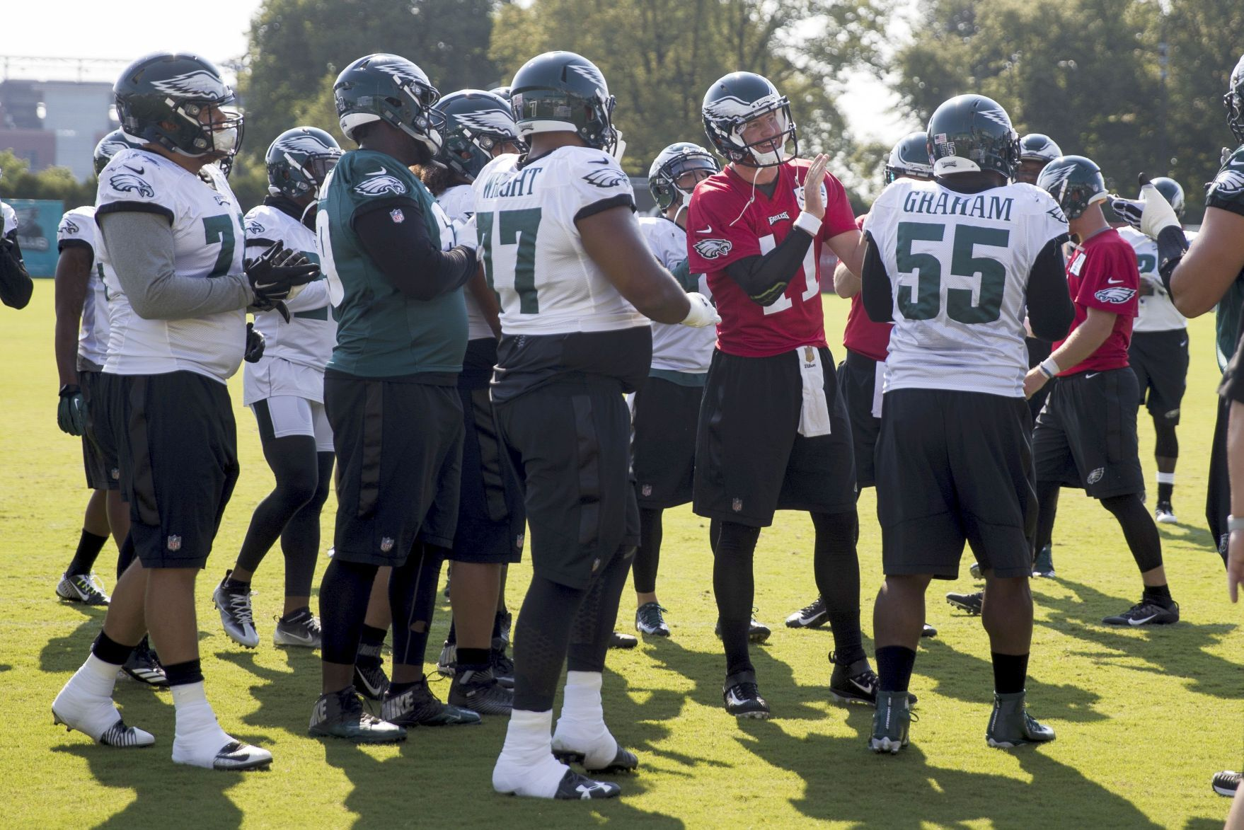 Eagles Set For Preseason Opener In Green Bay