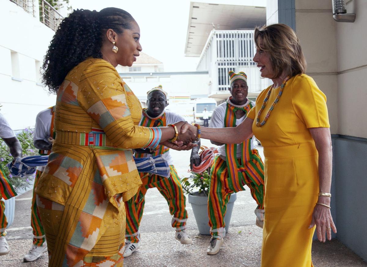 Ghana Pelosi Visit