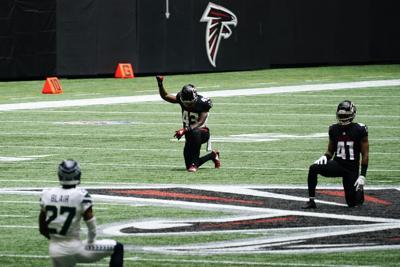 Seahawks Falcons Football