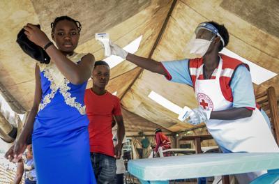 Uganda Ebola screening