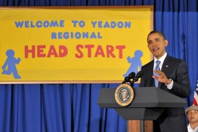 Obama visits area, touts new rules for Head Start
