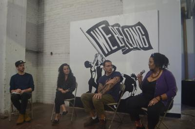 Artists behind voting-centric murals discuss inspirations