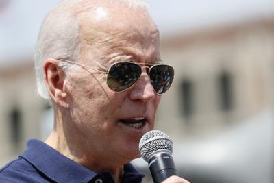 Joe Biden in Iowa