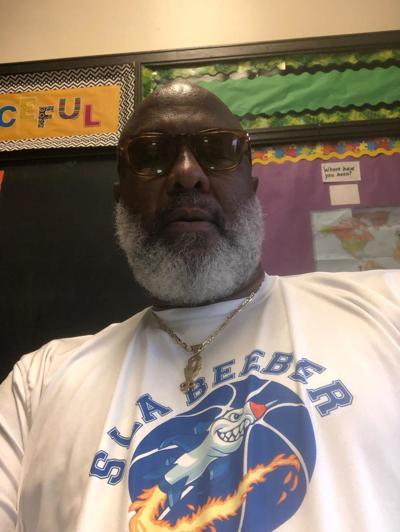 SLA Beeber coach James Brown