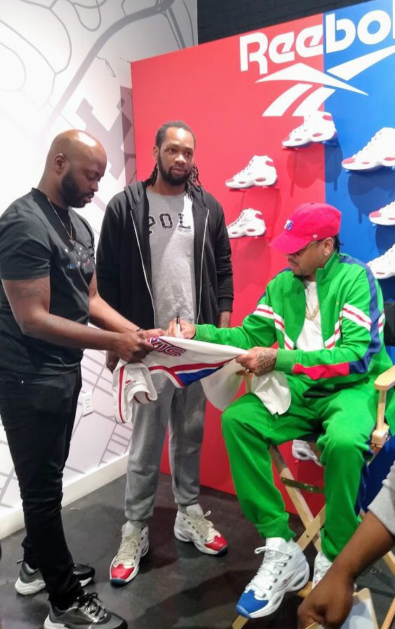 Iverson makes appearance in Wyncote for