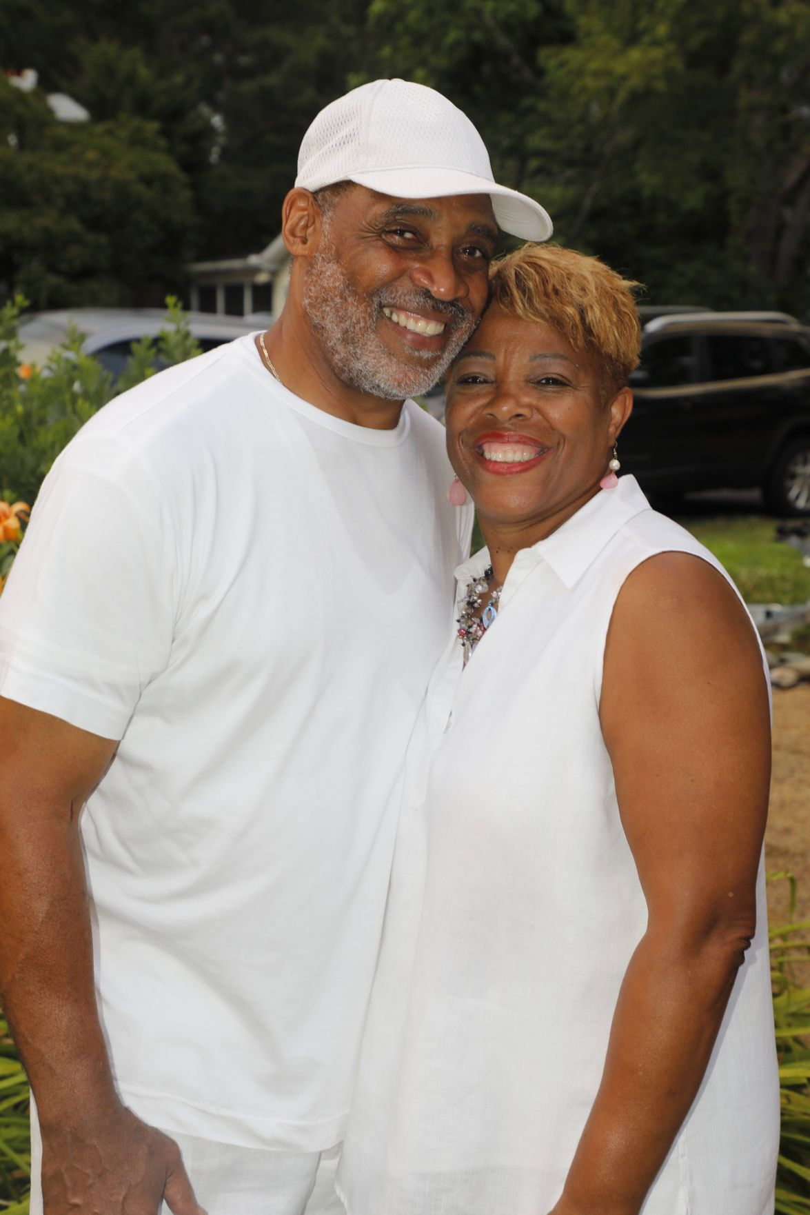 "'Annual All White Party by the Sea' takes sail - Louis ""Lou"" Williams and Claudia Averette-Williams"