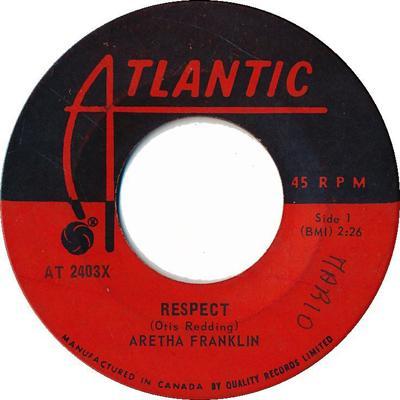 "Aretha Franklin ""RESPECT"""