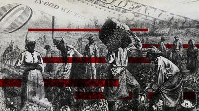 Slavery Reparations illustration