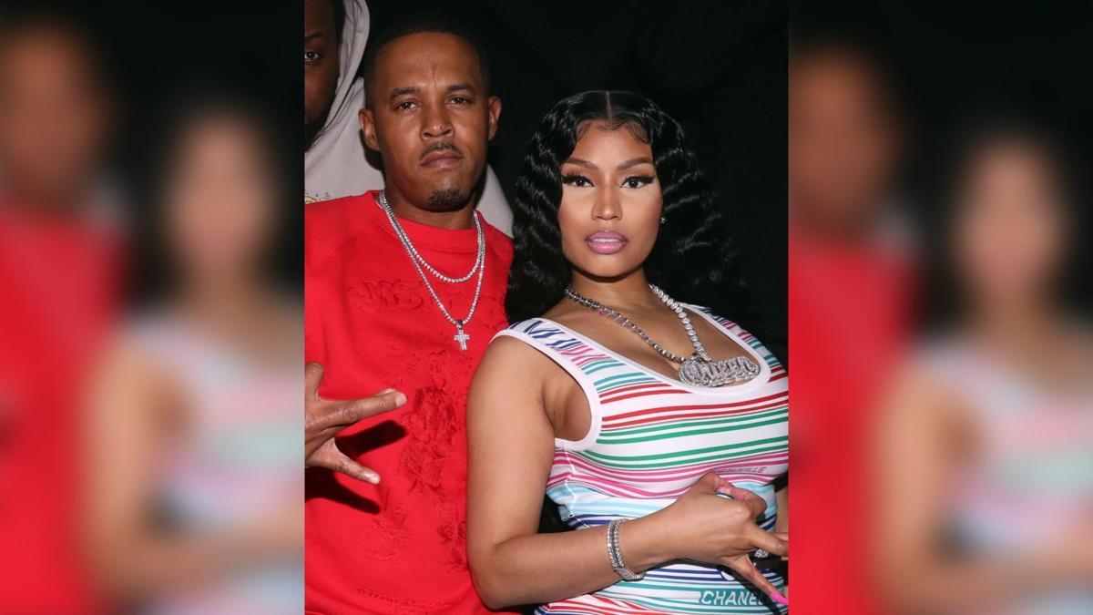 Kenneth Petty and Nicki Minaj