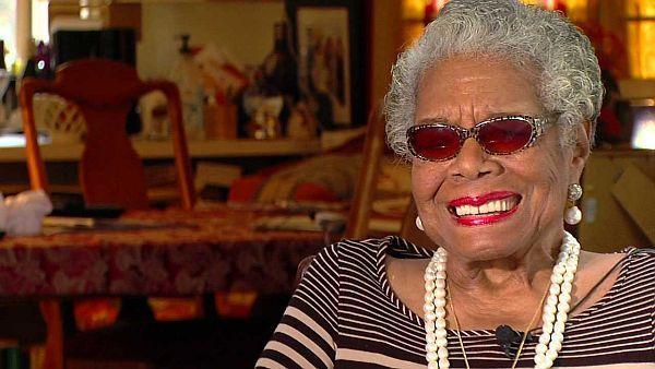 Maya Angelou dies -- FILE