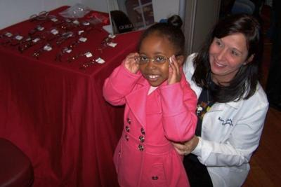 Free eye exams set for city's children