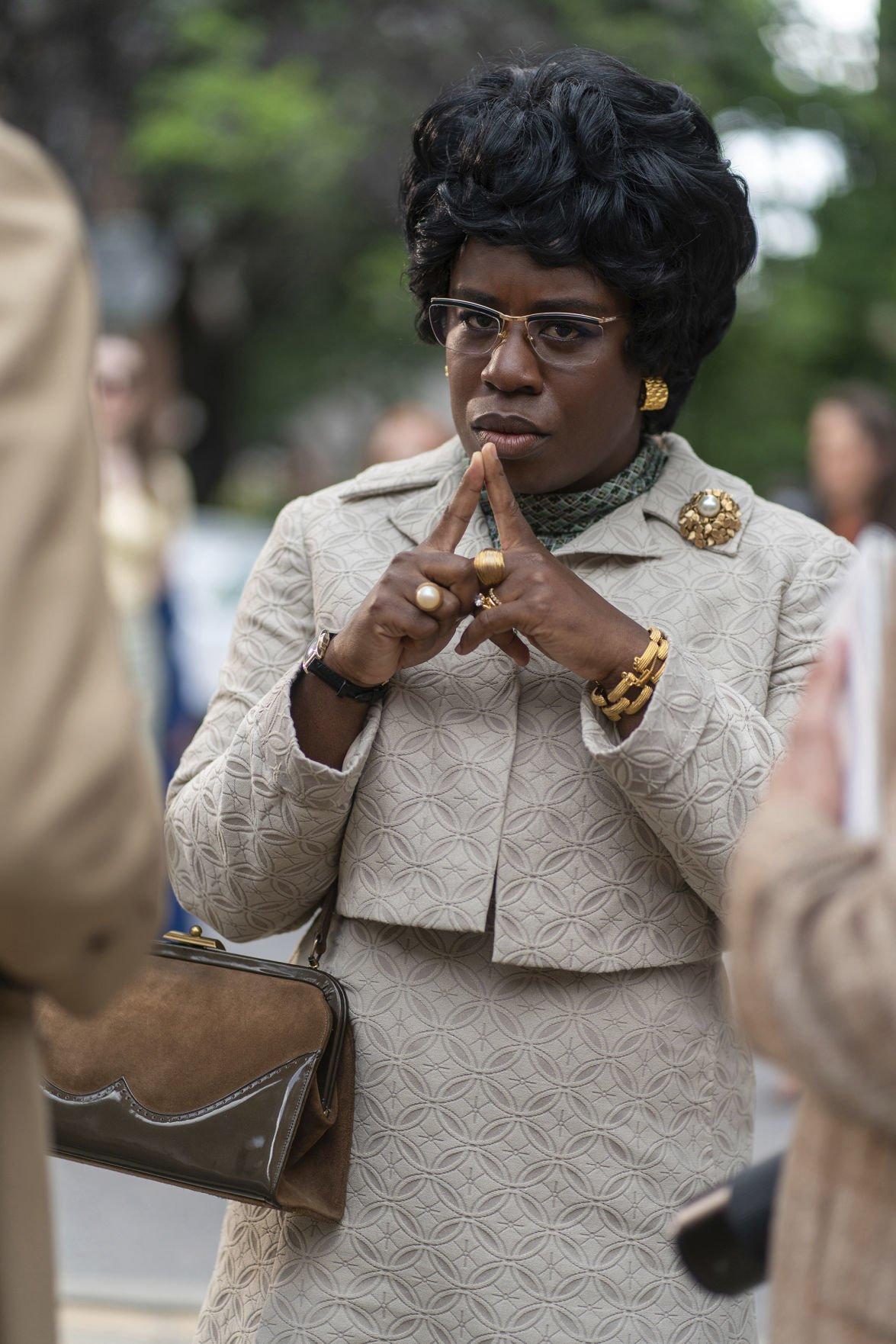 People-Uzo Aduba as Shirley Chisholm