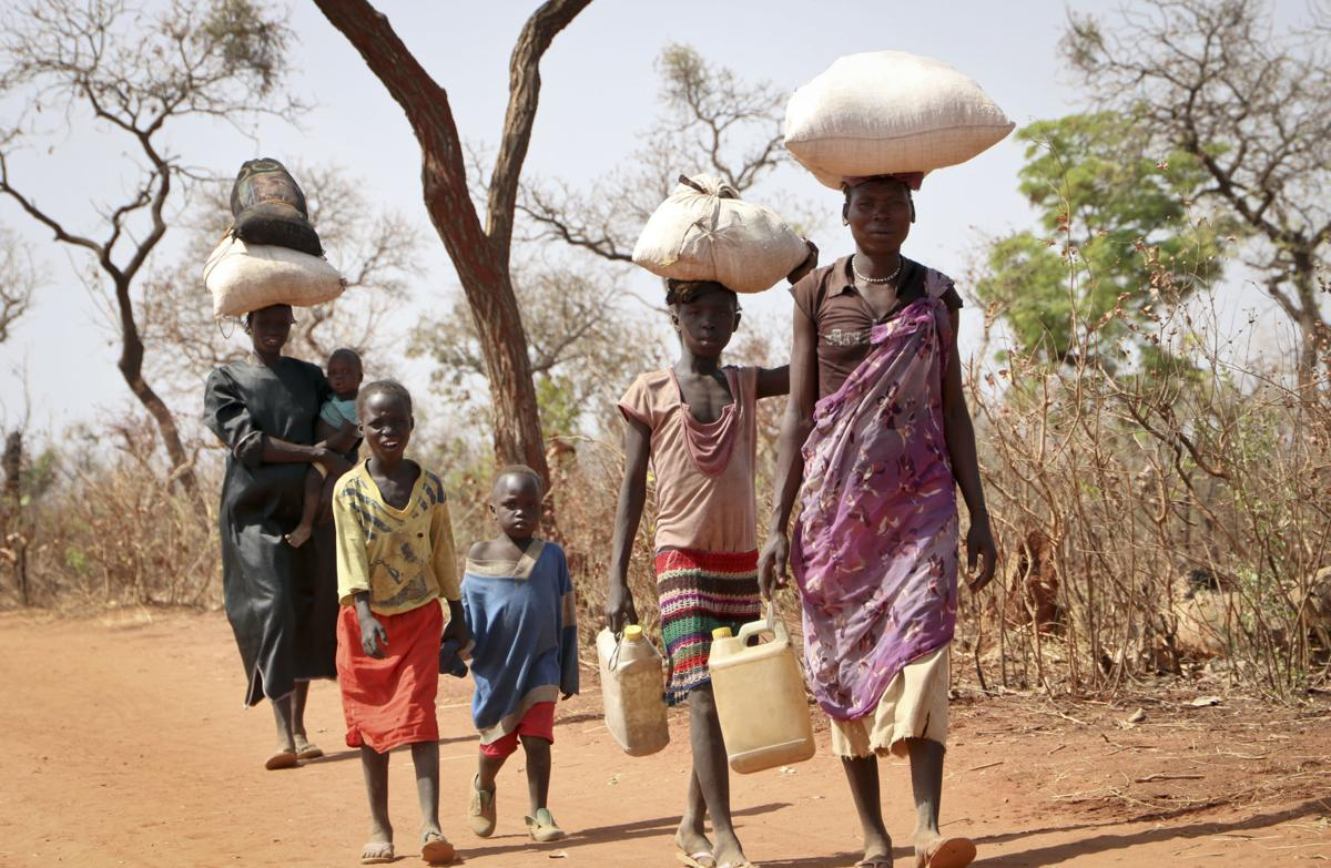 South Sudan Refugees From Sudan