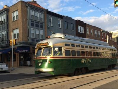 SEPTA's Route 15 trolley