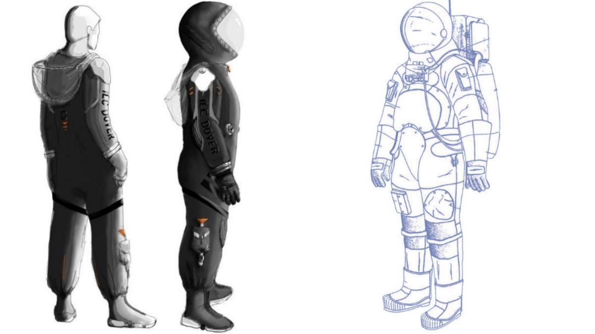 ILC Dover spacesuits