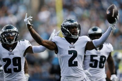 Eagles Panthers Football