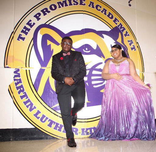 Martin Luther King High celebrates its seniors at socially-distanced prom