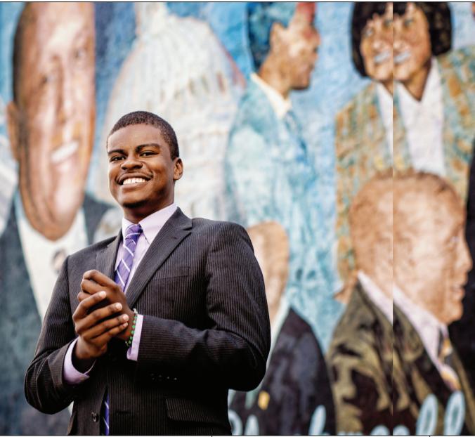 Jabari Jones, president of West Philadelphia Corridor Collaborative