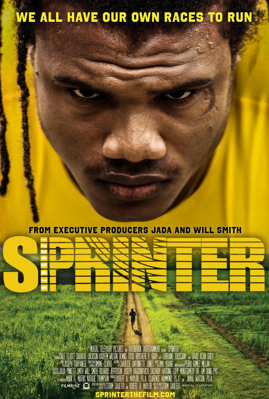 Sprinter poster - Sprinter by Will and Jada Pinkett Smith
