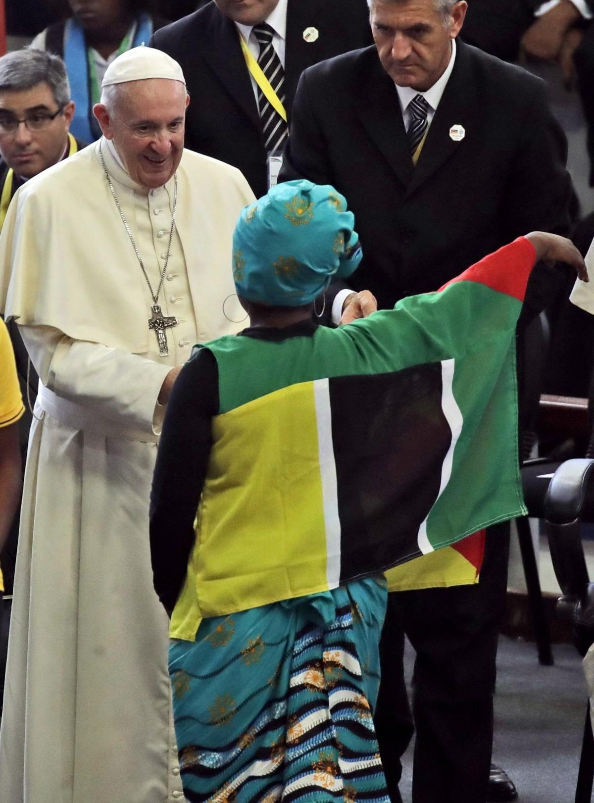 Pope in Mozambique