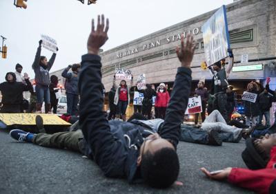 Newark Protest