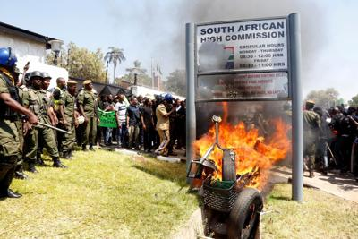 South Africa xenophobia attacks
