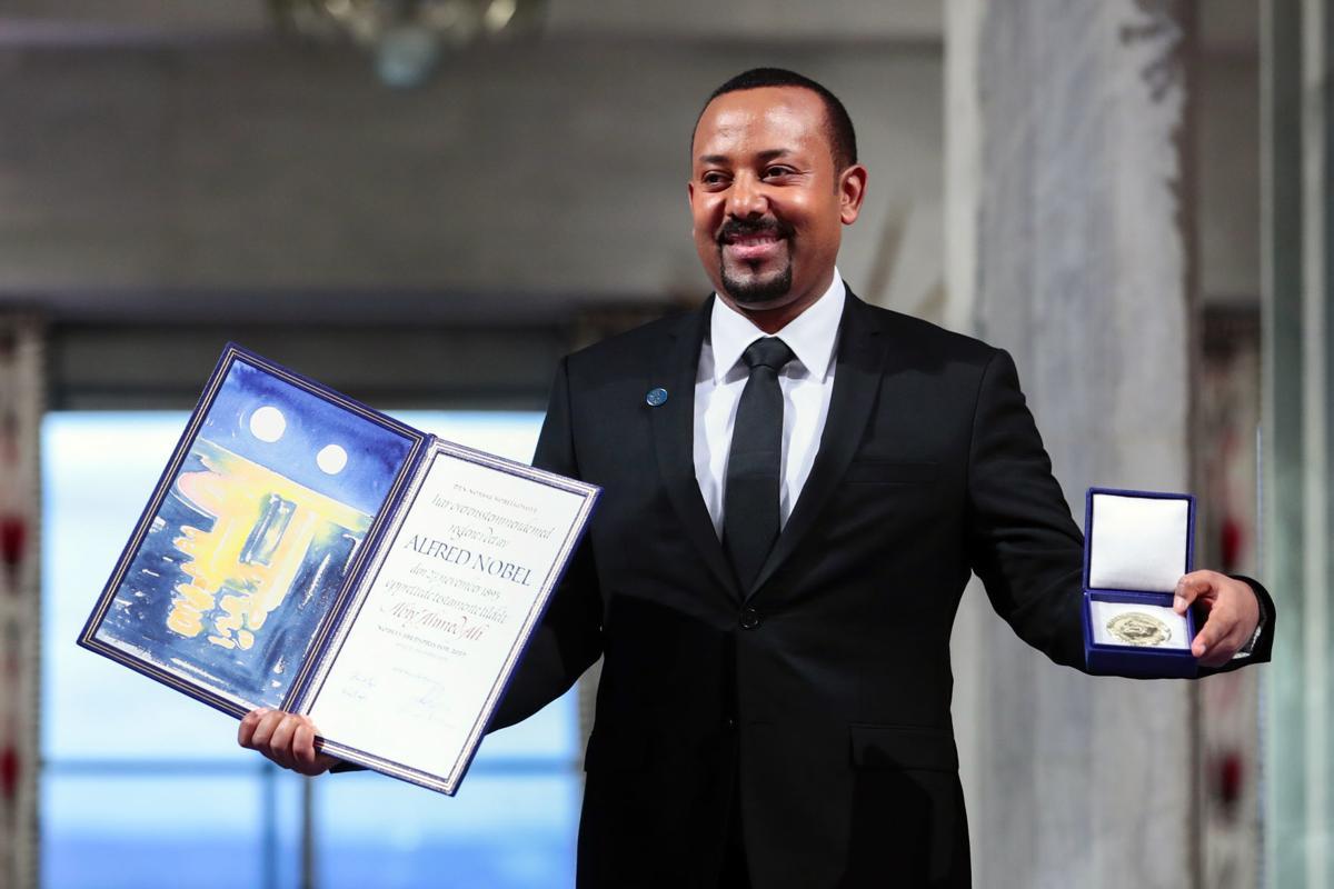Nobel winner Abiy: 'Hell' of war fueled desire for peace