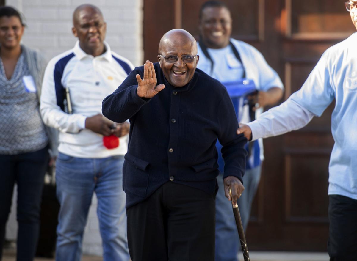South Africa Election Tutu
