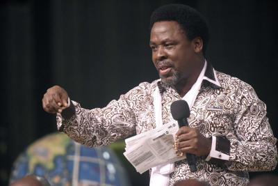 Nigerian pastor T.B. Joshua