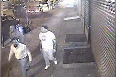 Police search for suspects in unrelated bar shootings