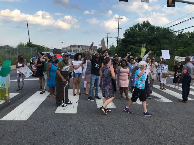 Nicetown protest