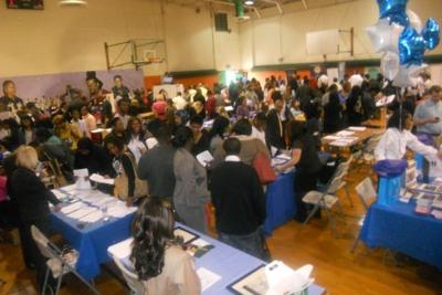 Nearly 800 turn out for job fair