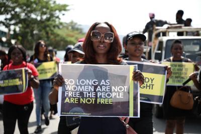 Woman say Nigerian police raped them after raid   News   phillytrib com