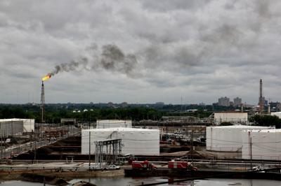 PES refinery fire