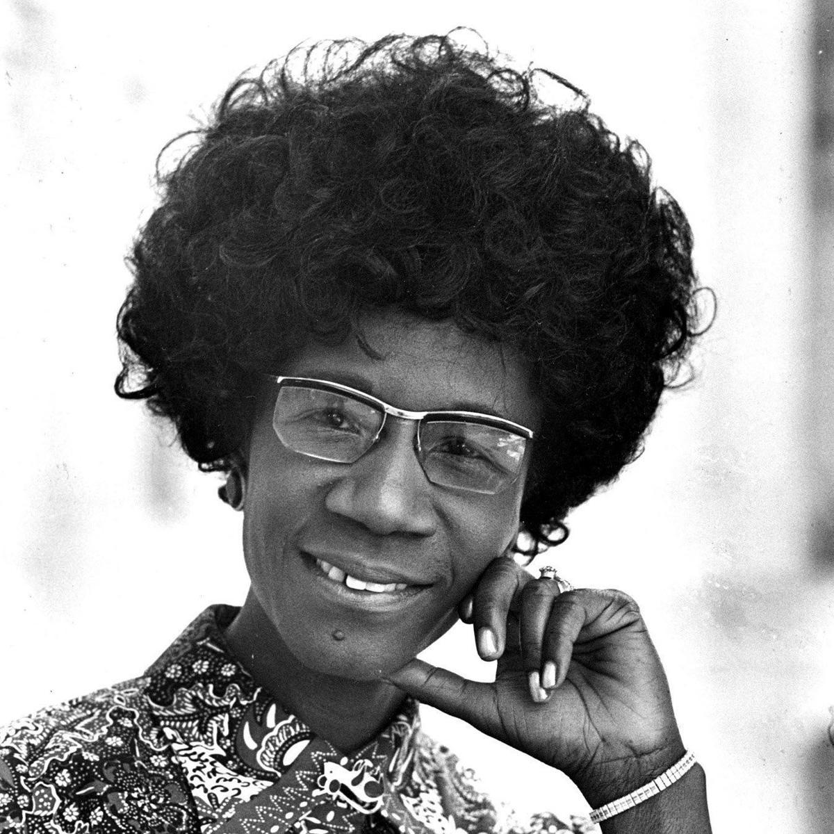 Former Democratic presidential nominee Shirley Chisholm