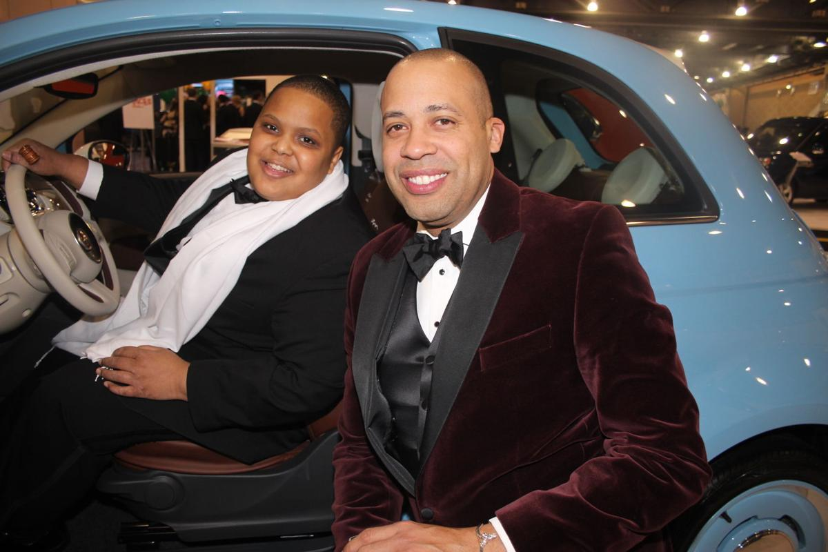 Philadelphia Auto Show Black Tie Tailgate Proves Memorable - Black tie event philadelphia car show