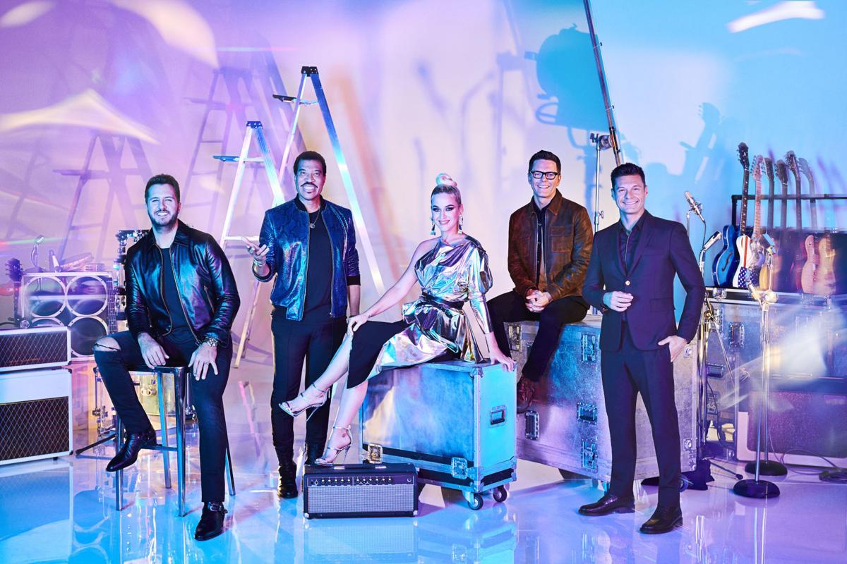 Ryan Seacrest, Lionel Richie, Katy Perry and Luke Bryan