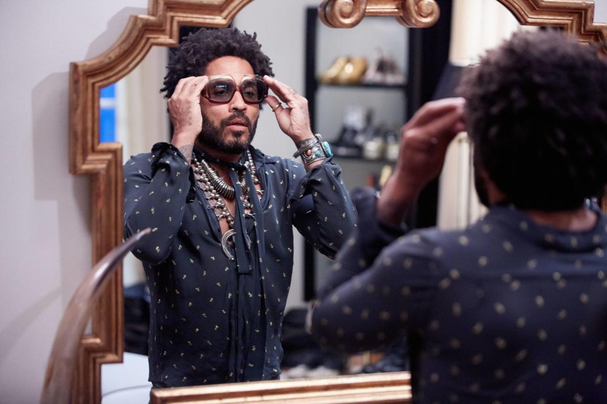 """Lenny Kravitz in """"Star"""""""