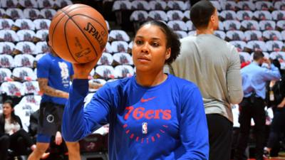 Lindsey Harding is now a part of the Sacramento KiLindsey Harding is now a part of the Sacramento Kings coaching staff. — AP PHOTO FILEngs coaching staff. AP PHOTO FILE
