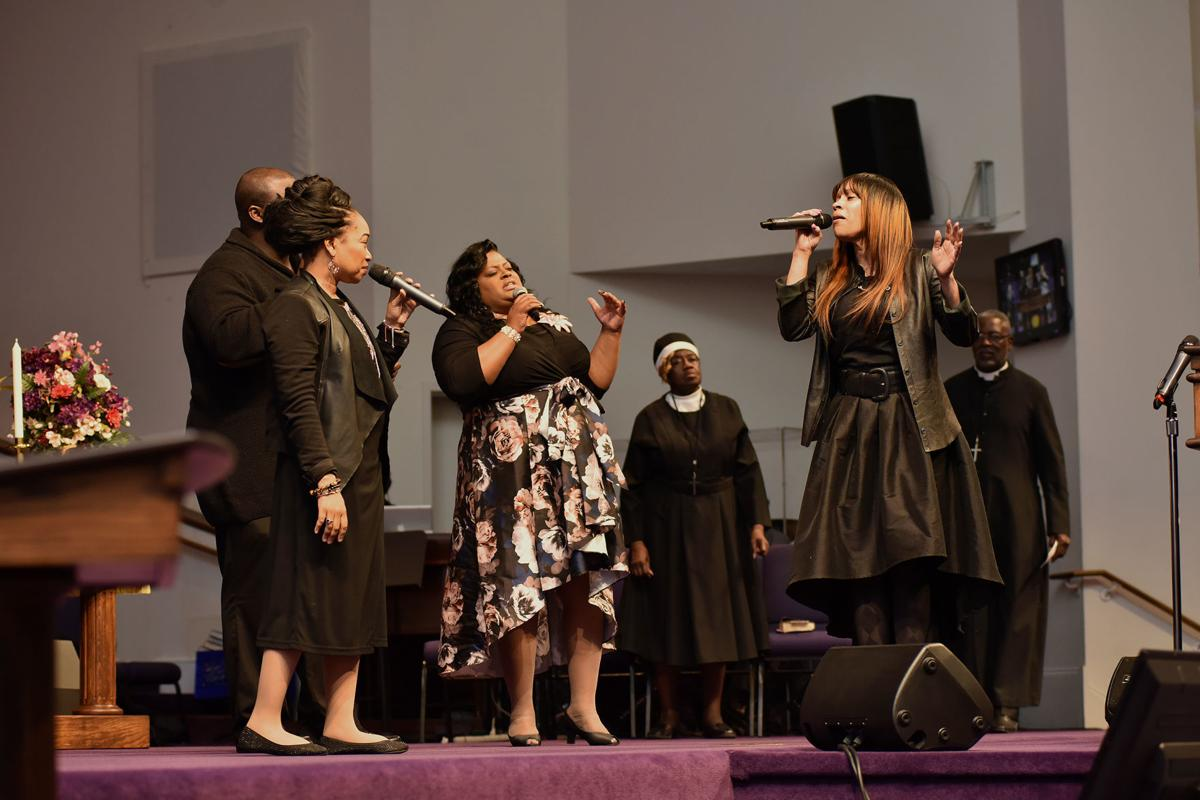 Mt  Airy Church Of God In Christ: A mega church with an