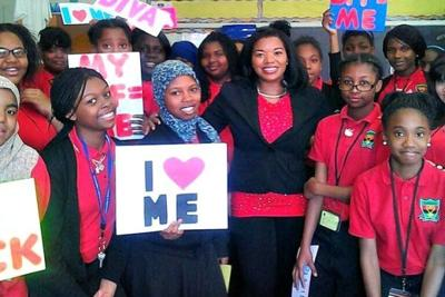 Event aims to set teen girls on right road