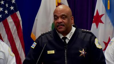 WLS Chicago Police Superintendent Eddie Johnson