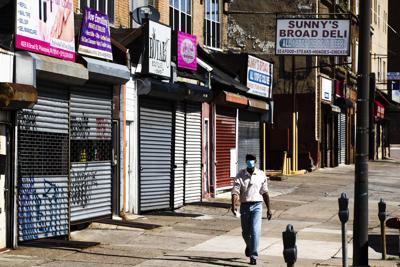 Shuttered businesses in Philadelphia