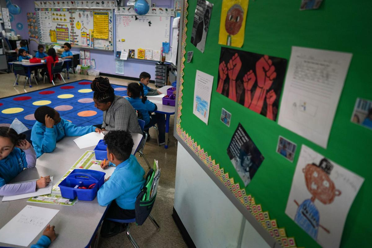 First-grade class at KIPP STAR Harlem College Prep Elementary School