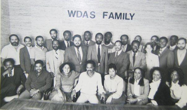 WDAS Staff Photo 1981