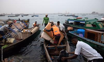 Nigerians forced out of slums