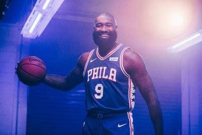 Kyle O'Quinn brings a broad smile and maturity to the young Philadelphia 76ers. —PHOTO COURTESY OF THE PHILADELPHIA 76ers.