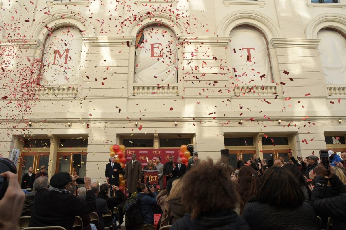 The Met reopens