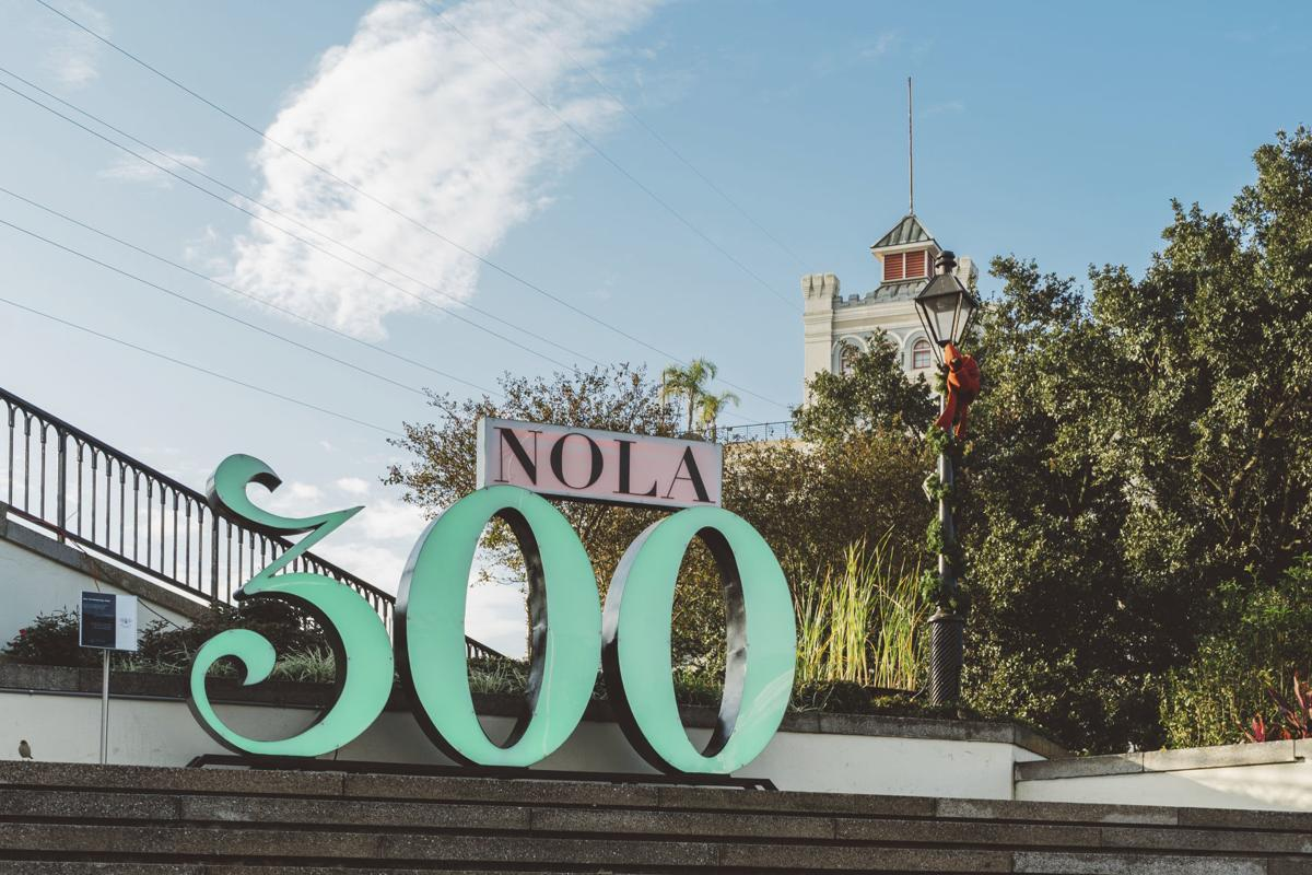 The big easy sets fitting tricentennial bash lifestyle