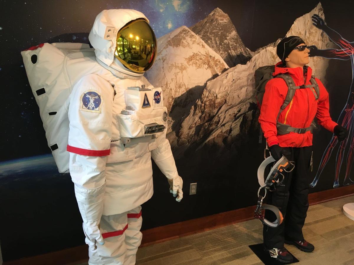 Gore space suit